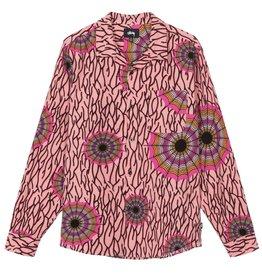 Stussy Stussy Web Flannel Shirt Pink
