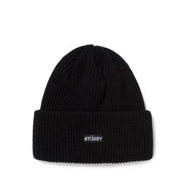 Stussy Stussy Watch Patch Beanie Black