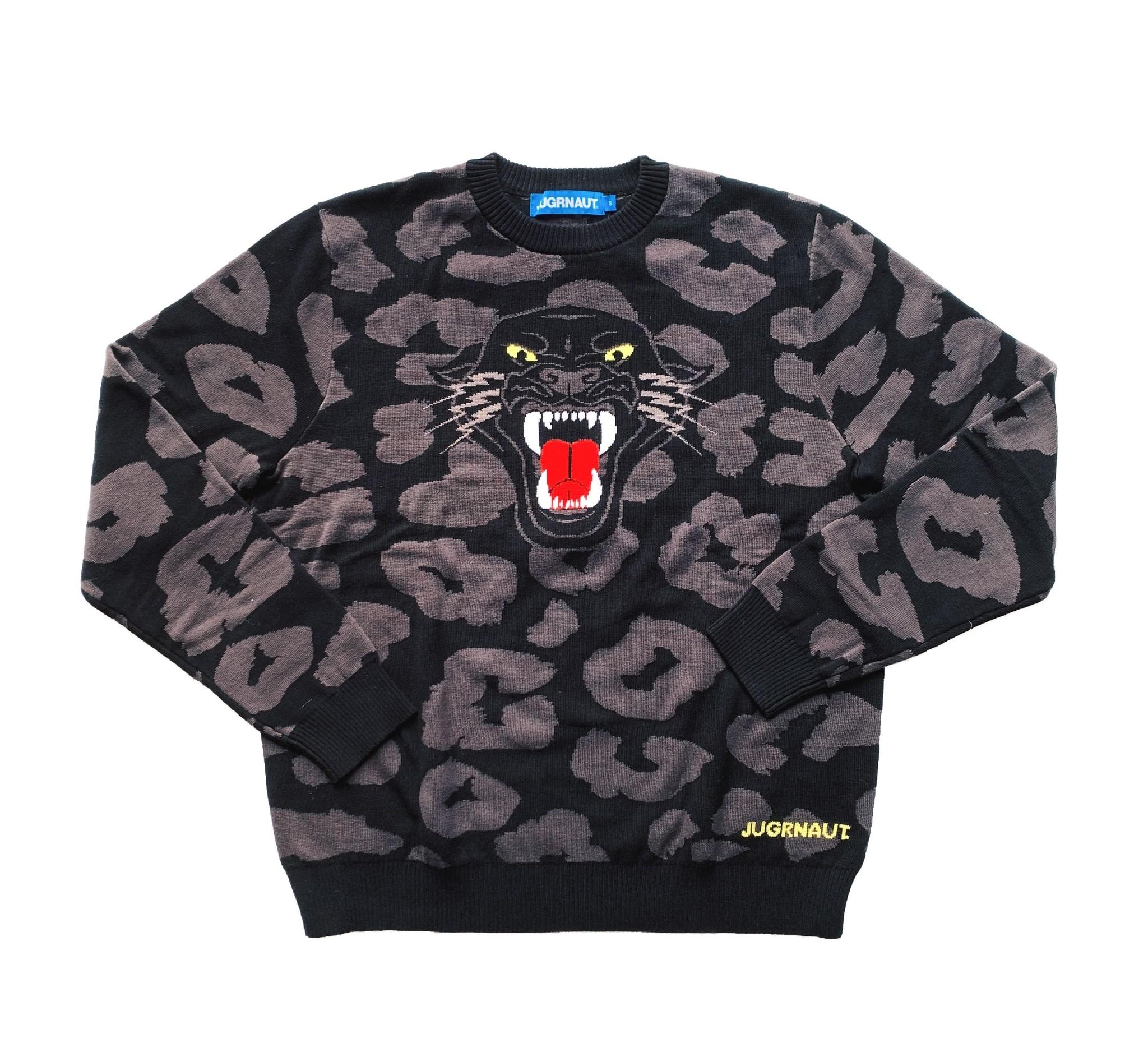Jugrnaut Jugrnaut Black Cat Sweater Black
