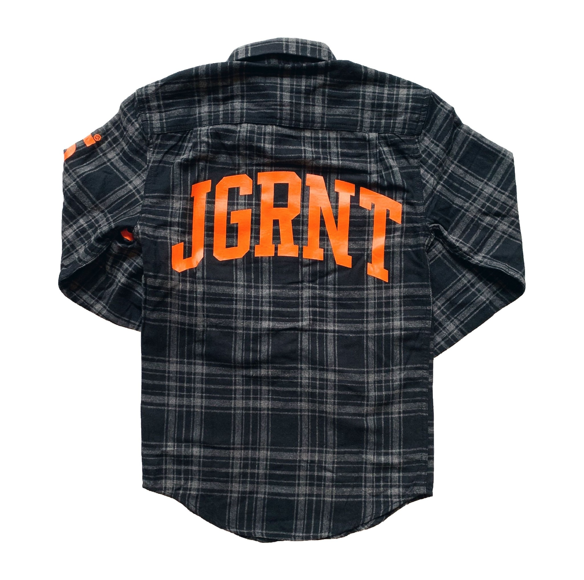 Jugrnaut Jugrnaut Worldwide Flannel Black/Orange