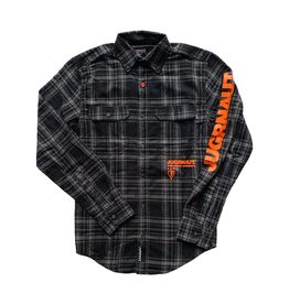 Jugrnaut Jugrnaut Worldwide Flannel Black/Orange