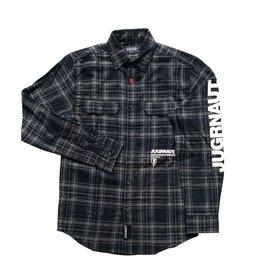 Jugrnaut Jugrnaut Worldwide Flannel Black/White