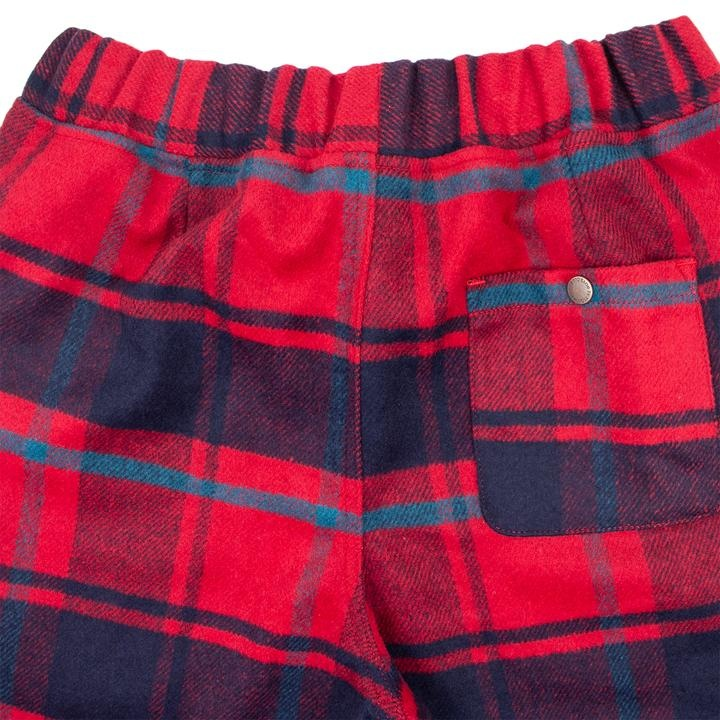 BBC BBC Sunrise Plaid Pant Red
