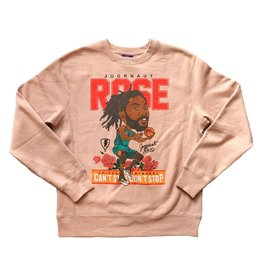 Jugrnaut Jugrnaut Rose Basketball Crew Dusty Pink