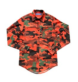 Jugrnaut Jugrnaut Panthro Button Up Orange Camo