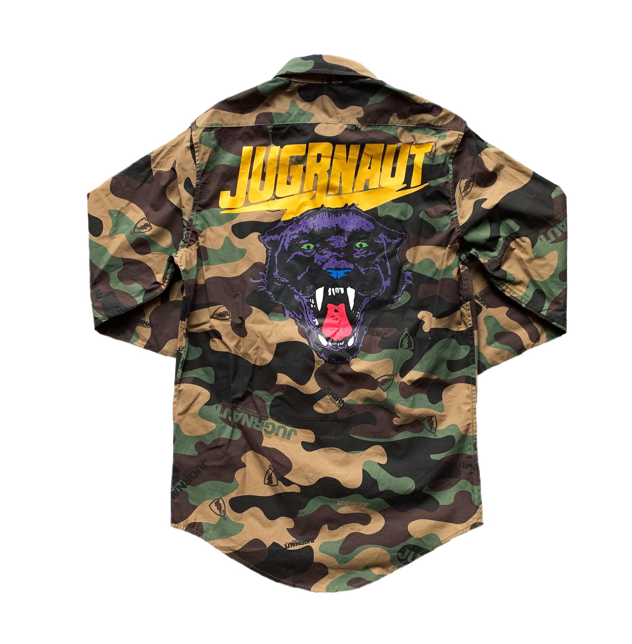 Jugrnaut Jugrnaut Panthro Button Up Camo