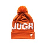 Jugrnaut Jugrnaut Bold Text Logo Beanie Orange