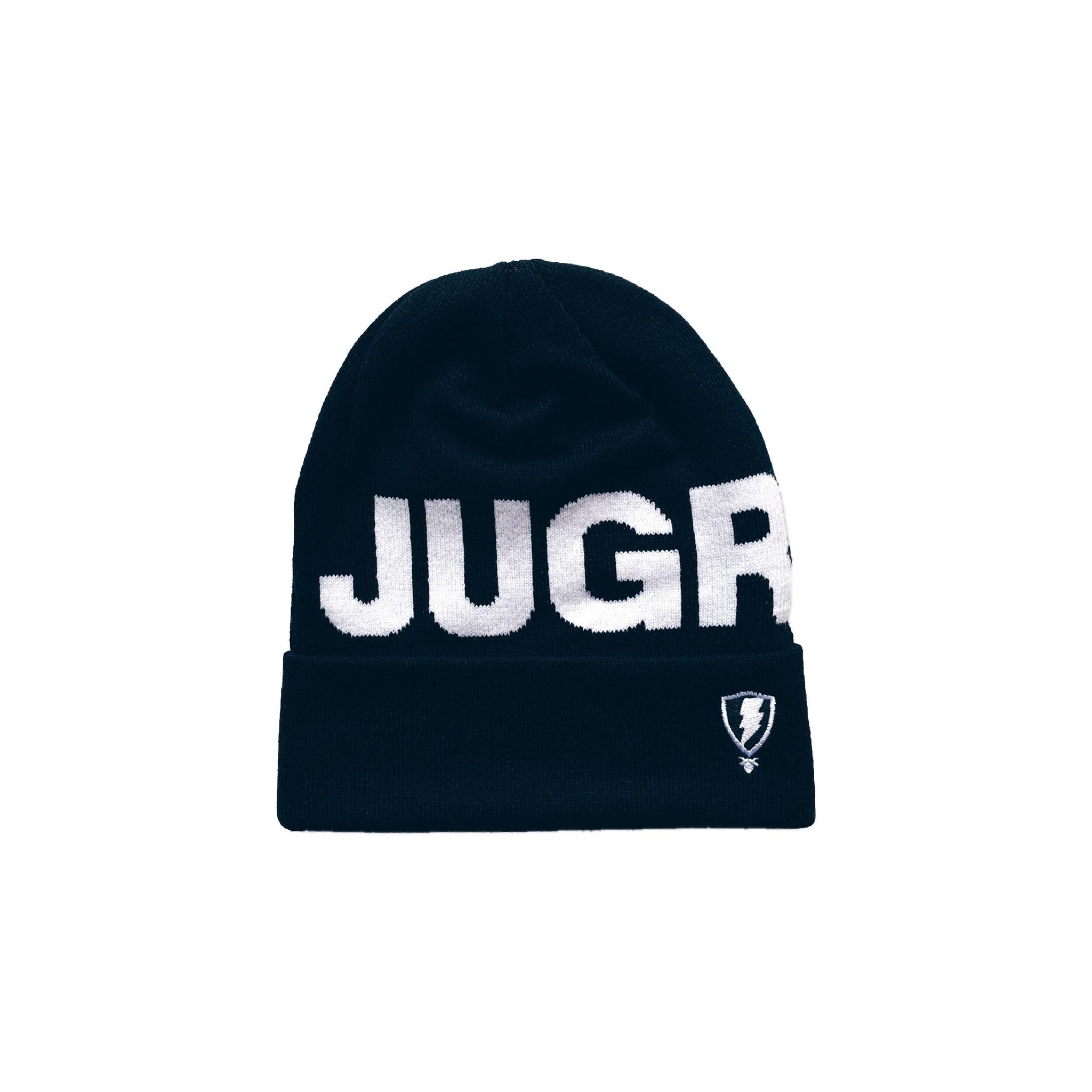 Jugrnaut Jugrnaut Bold Text Logo Beanie Black