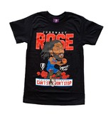 Jugrnaut Jugrnaut Rose Basketball 2020 Tee  Black