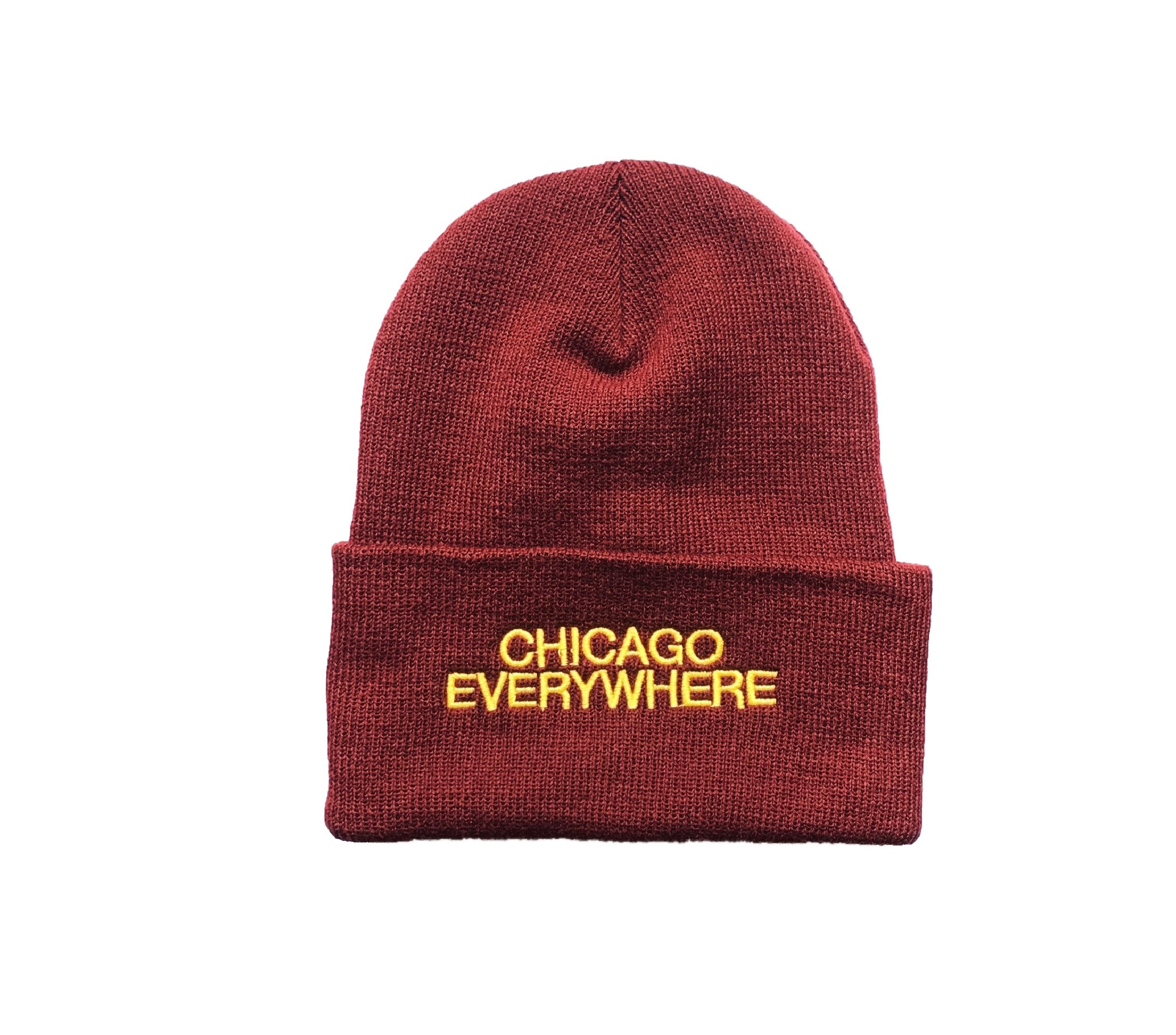 Jugrnaut Jugrnaut Two Sided Beanie Maroon