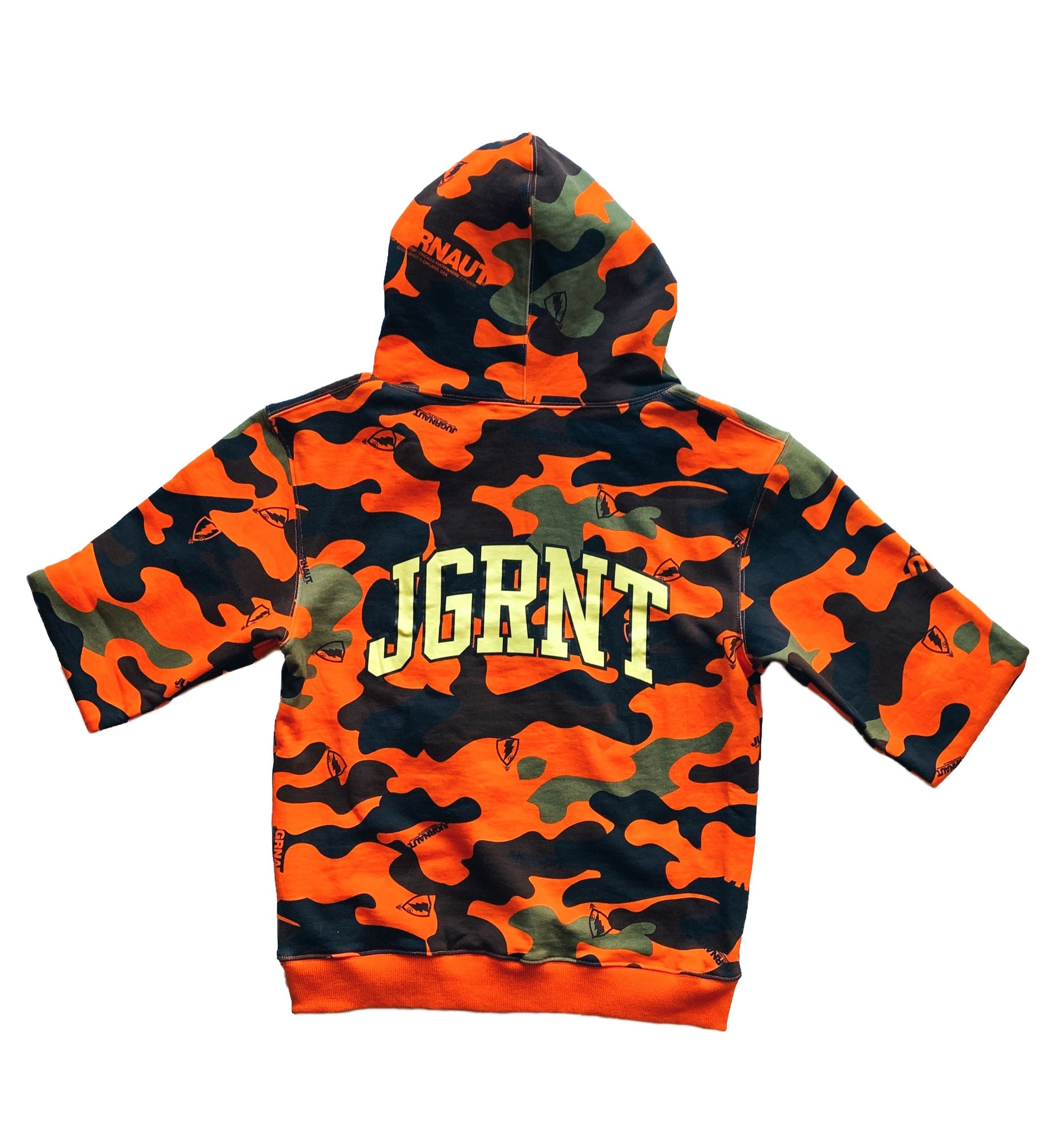 Jugrnaut Jugrnaut Signature Camo Hoody Orange