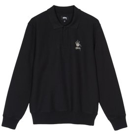 Stussy Stussy Polo Fleece Black