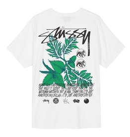 Stussy Stussy Bloom Pigment Dyed Tee Natural