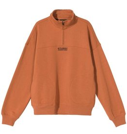 Stussy Stussy Mock Neck half Clay
