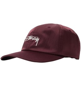 Stussy Stussy Nylon Low Pro Cap Berry