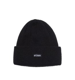 Stussy Stussy Patch Cuff Beanie black