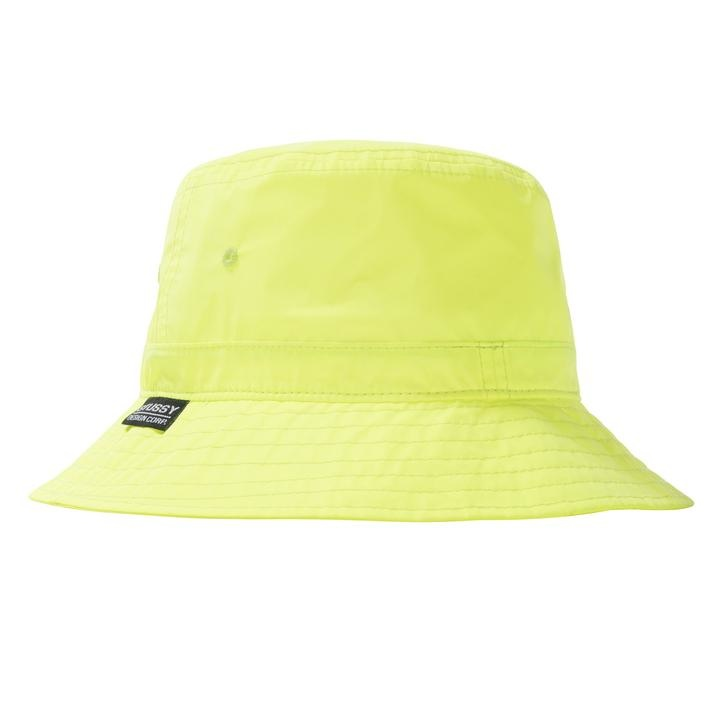 Stussy Reflective Bucket Hat Neon 3M