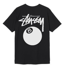 Stussy Stussy 8 Ball Pig.Dyed Tee Black