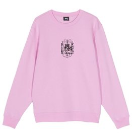 Stussy Stussy True To This Crew pink