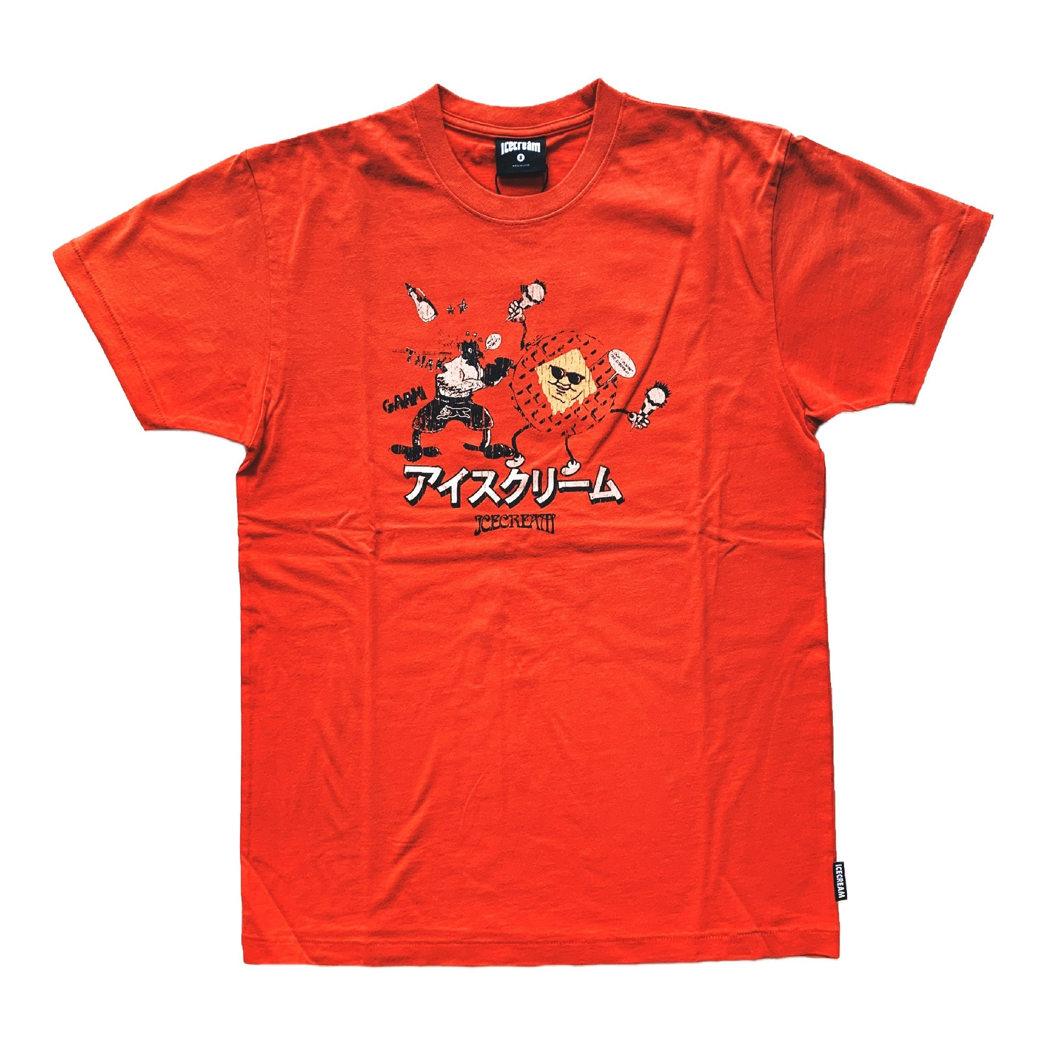 Icecream icecream Reynolds SS Tee Red