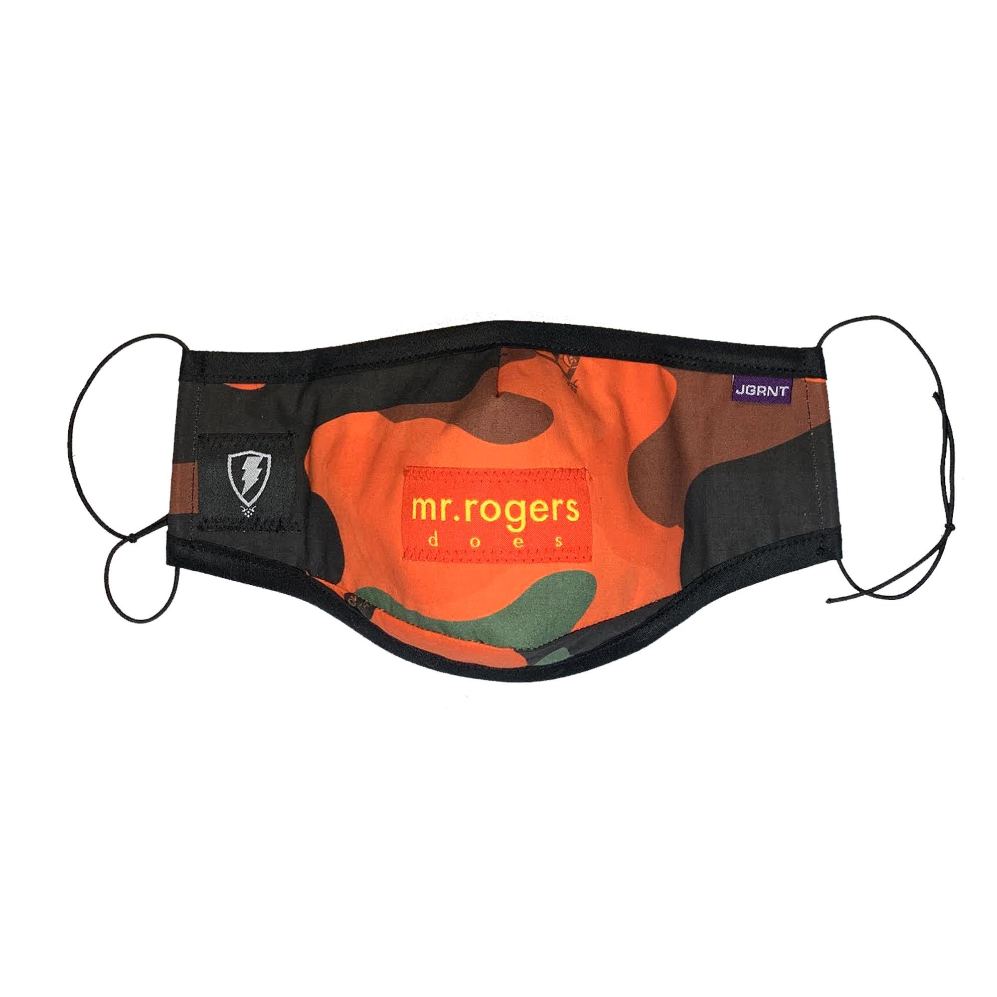Jugrnaut Jugrnaut x Panels Mask Orange Camo
