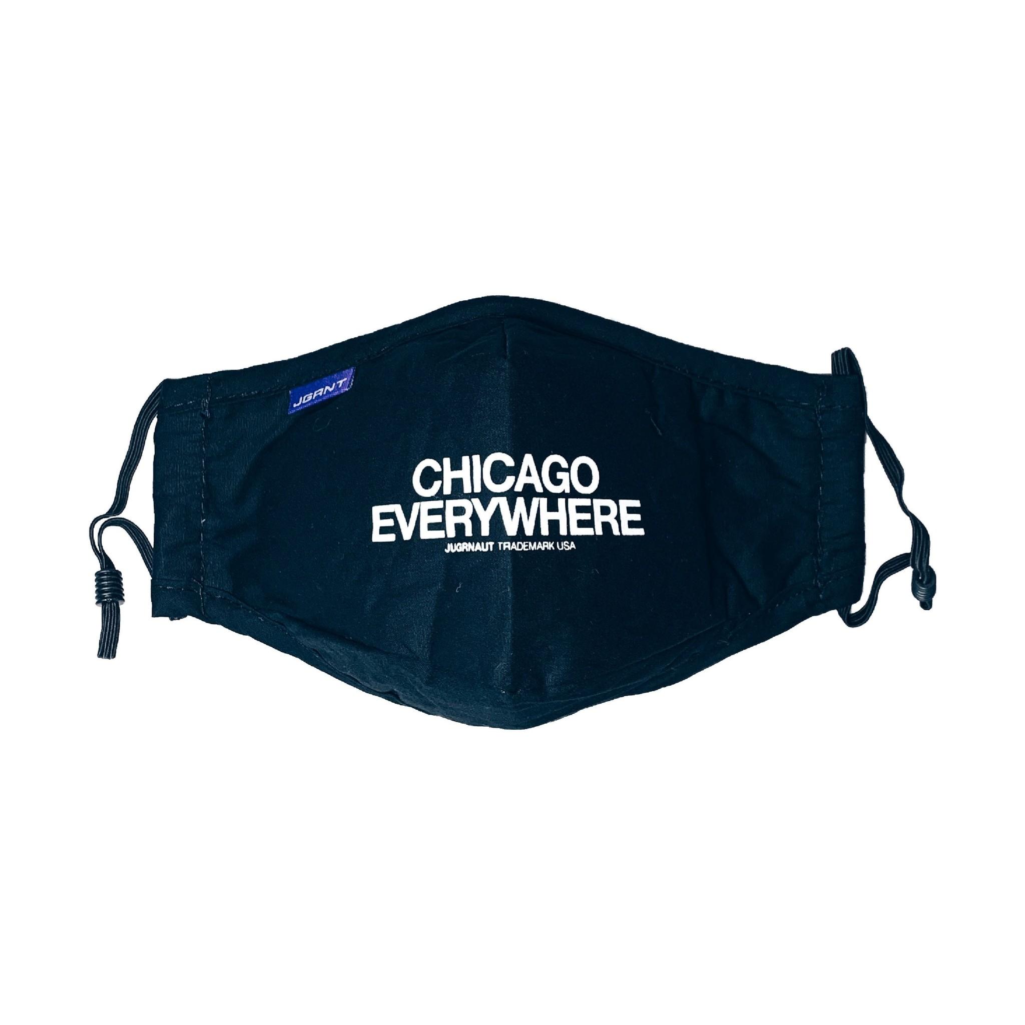 Jugrnaut Jugrnaut Chicago Everywhere face mask Black