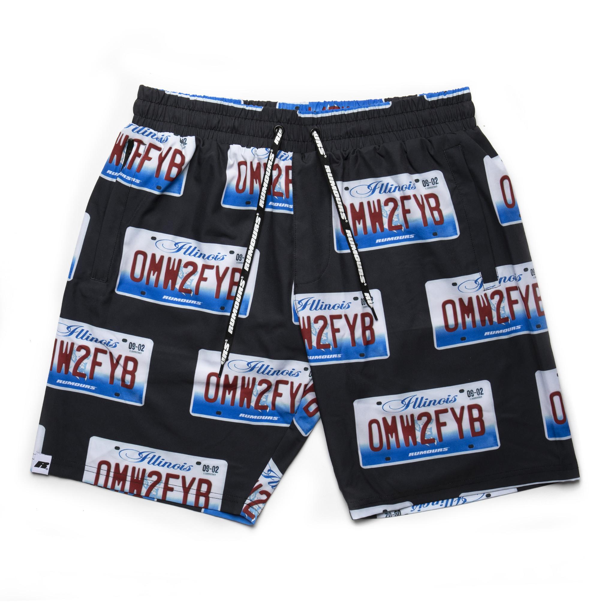 Rumours Rumours OMWTFYB Shorts Black