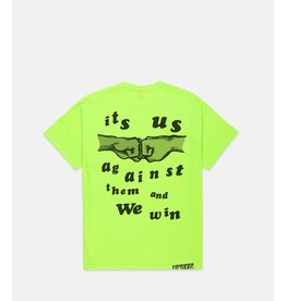 10 Deep 10 Deep us and them tee neon