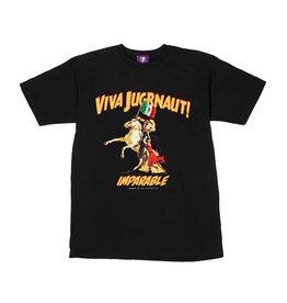 Jugrnaut Jugrnaut Viva Jugrnaut Tee Black