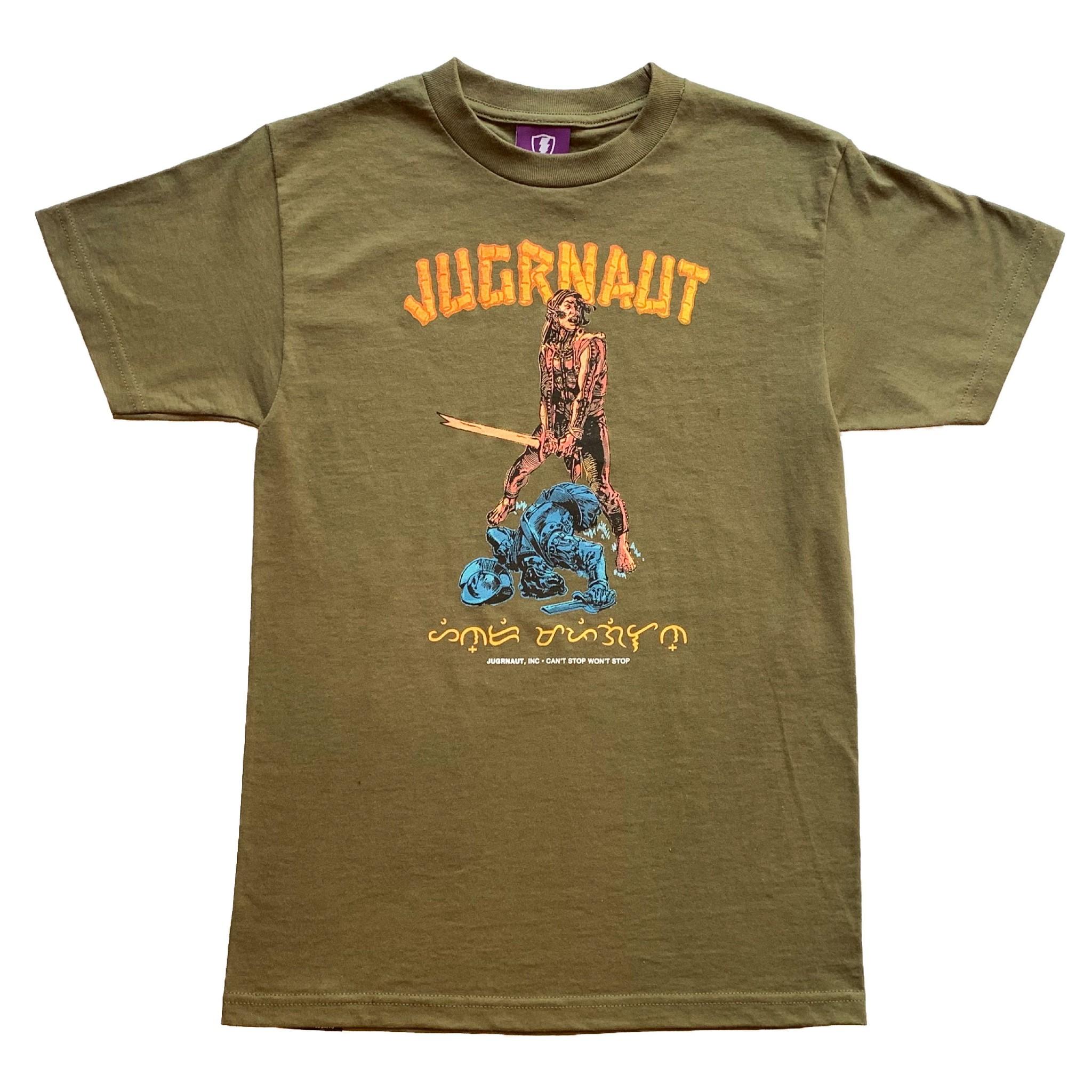Jugrnaut Jugrnaut Lapulapu Tee Military Green