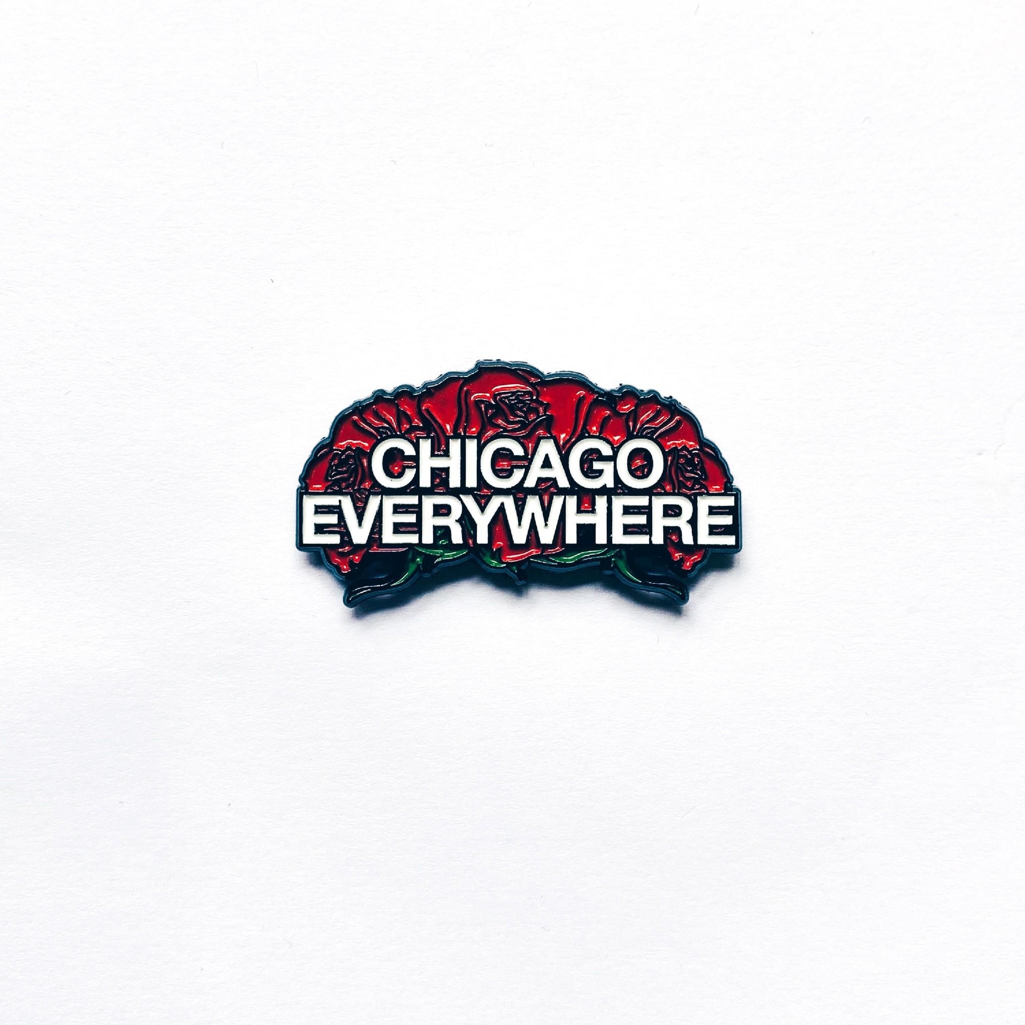 Jugrnaut Jugrnaut Chicago Everywhere Enamel Pin