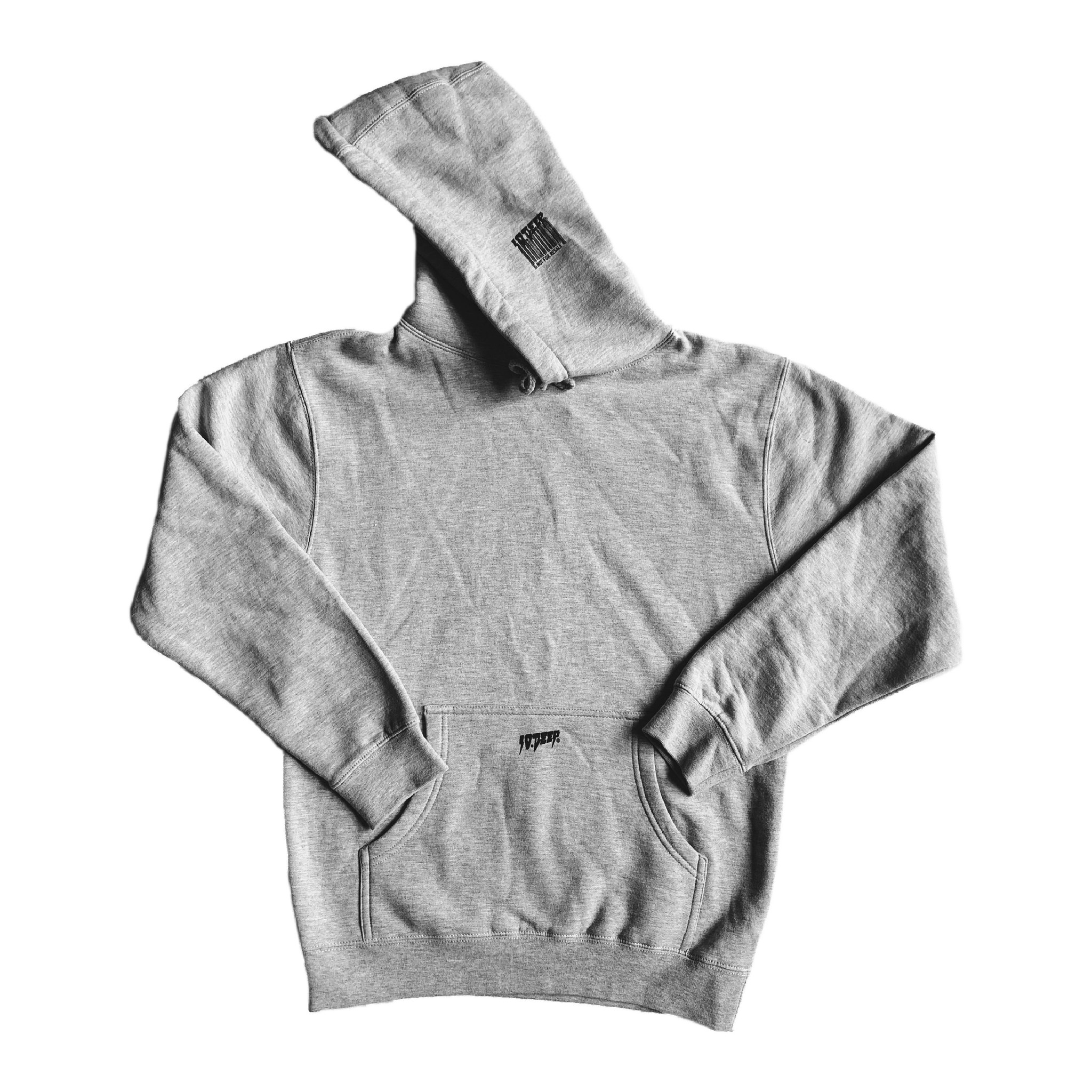 10 Deep 10 Deep Logo Hoodie Heather Grey