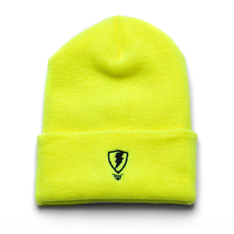 Jugrnaut Jugrnaut Chi Everywhere / Shield Beanie Safety Yellow