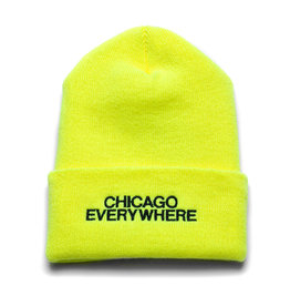Jugrnaut Jugrnaut Chi Everywhere / Shield Beanie Safety Yellow