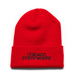 Jugrnaut Jugrnaut Chi Everywhere / Shield Beanie Red