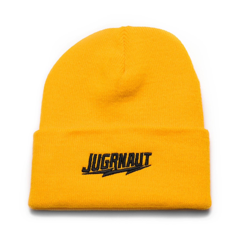 Jugrnaut Jugrnaut Shield / Jugrnaut Beanie Gold