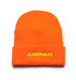 Jugrnaut Jugrnaut Script Beanie Thinsulate Orange