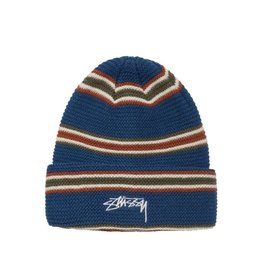 Stussy Stussy Triple Stripe Cuff Bean Blue