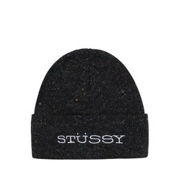 Stussy Stussy Speckled Cuff Beanie Black