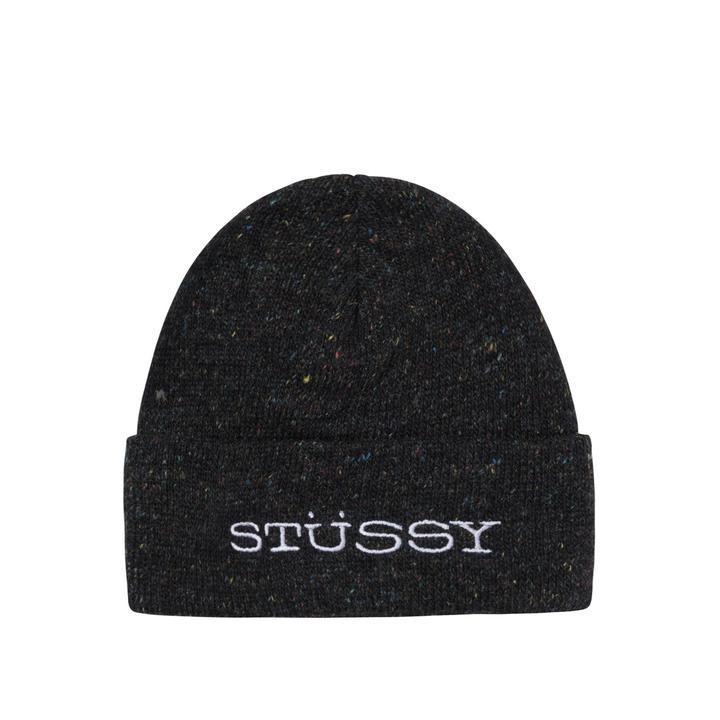 Stussy Stussy Speckled Cuff Beanie Black