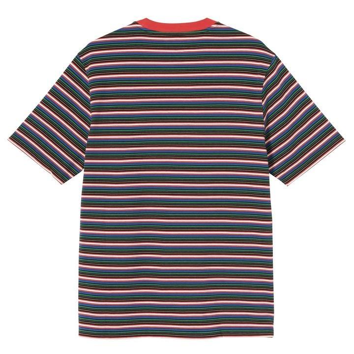 Stussy Stussy Mini Stripe Crew Red
