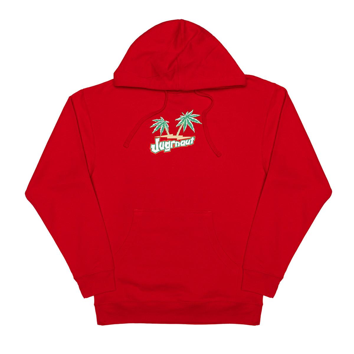 Jugrnaut Jugrnaut Tahitian Red Hoodie