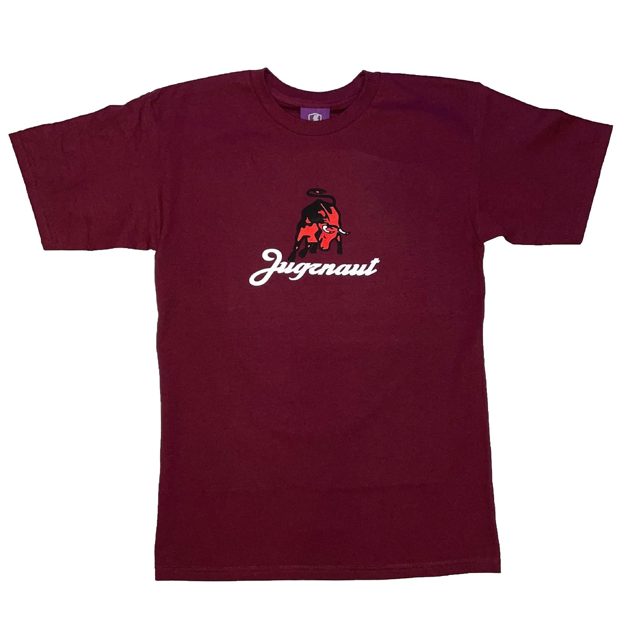 Jugrnaut Jugrnaut Lamborghini Tee  Burgundy