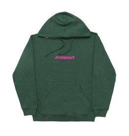 Jugrnaut Jugrnaut Embroidery Spellout19  Hoodie Alpine Green