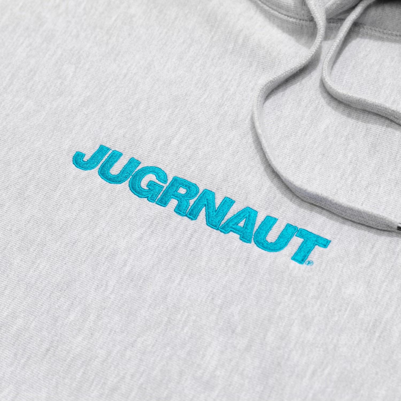Jugrnaut Jugrnaut Embroidery Spellout19  Hoodie Heather