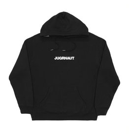 Jugrnaut Jugrnaut Embroidery Spellout19  Hoodie Black