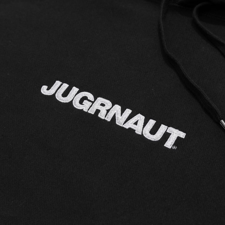 Jugrnaut Jugrnaut Embroidery Spellout19  Hoodie Black