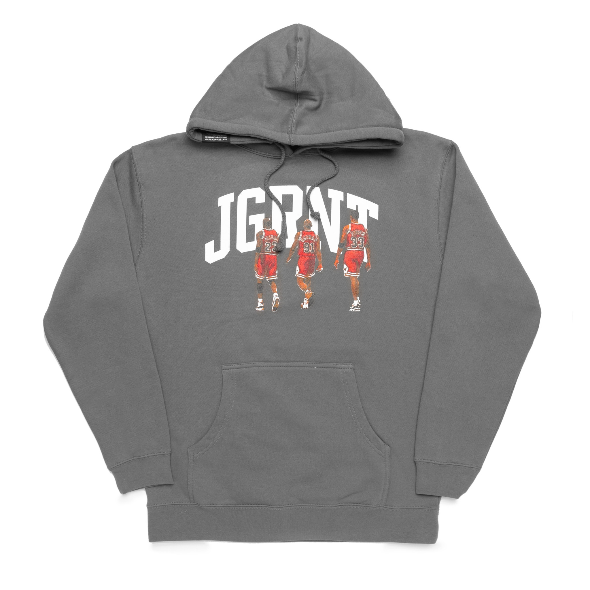 Jugrnaut Jugrnaut Dynasty Hoody Washed Grey