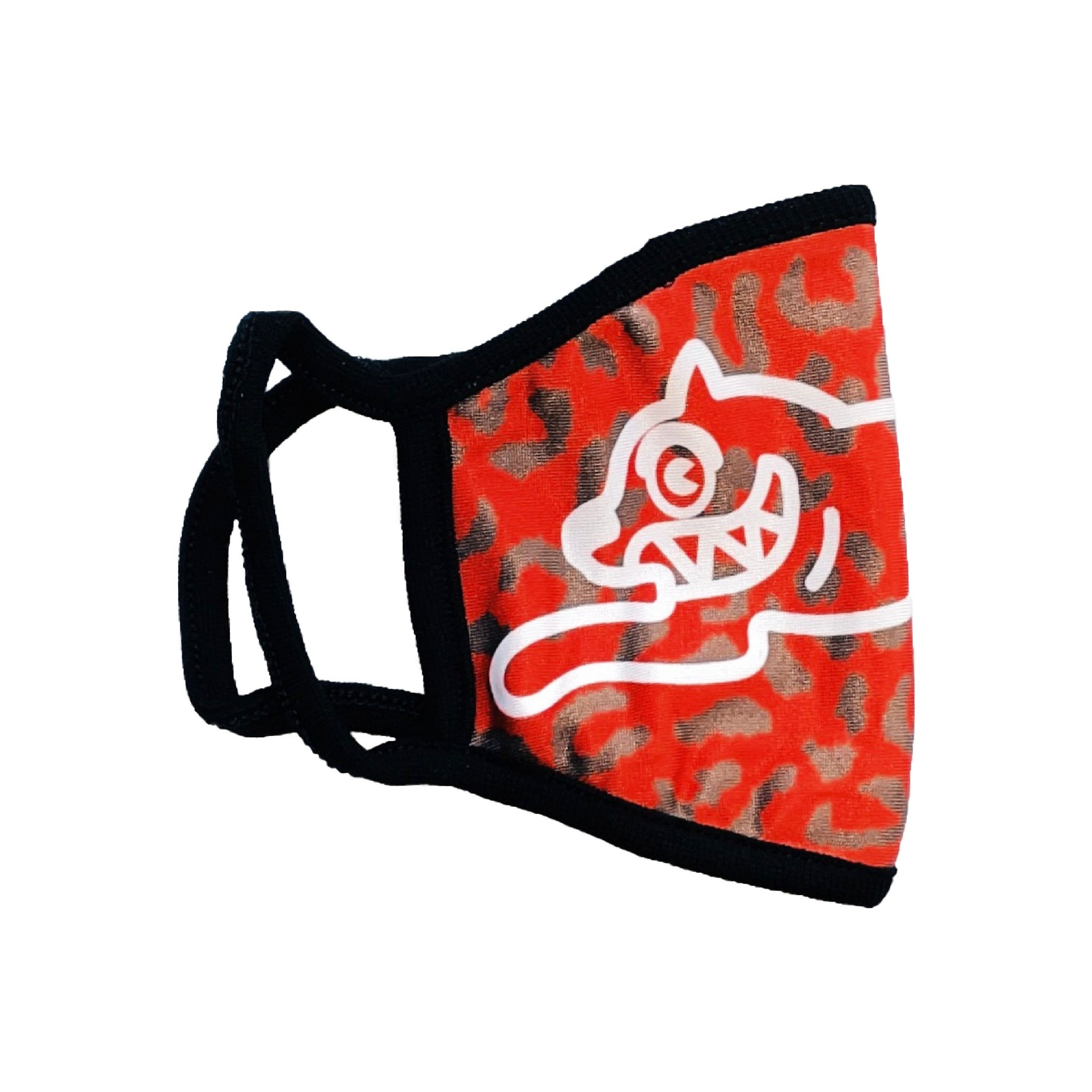 Icecream Icecream Dog Mask Red