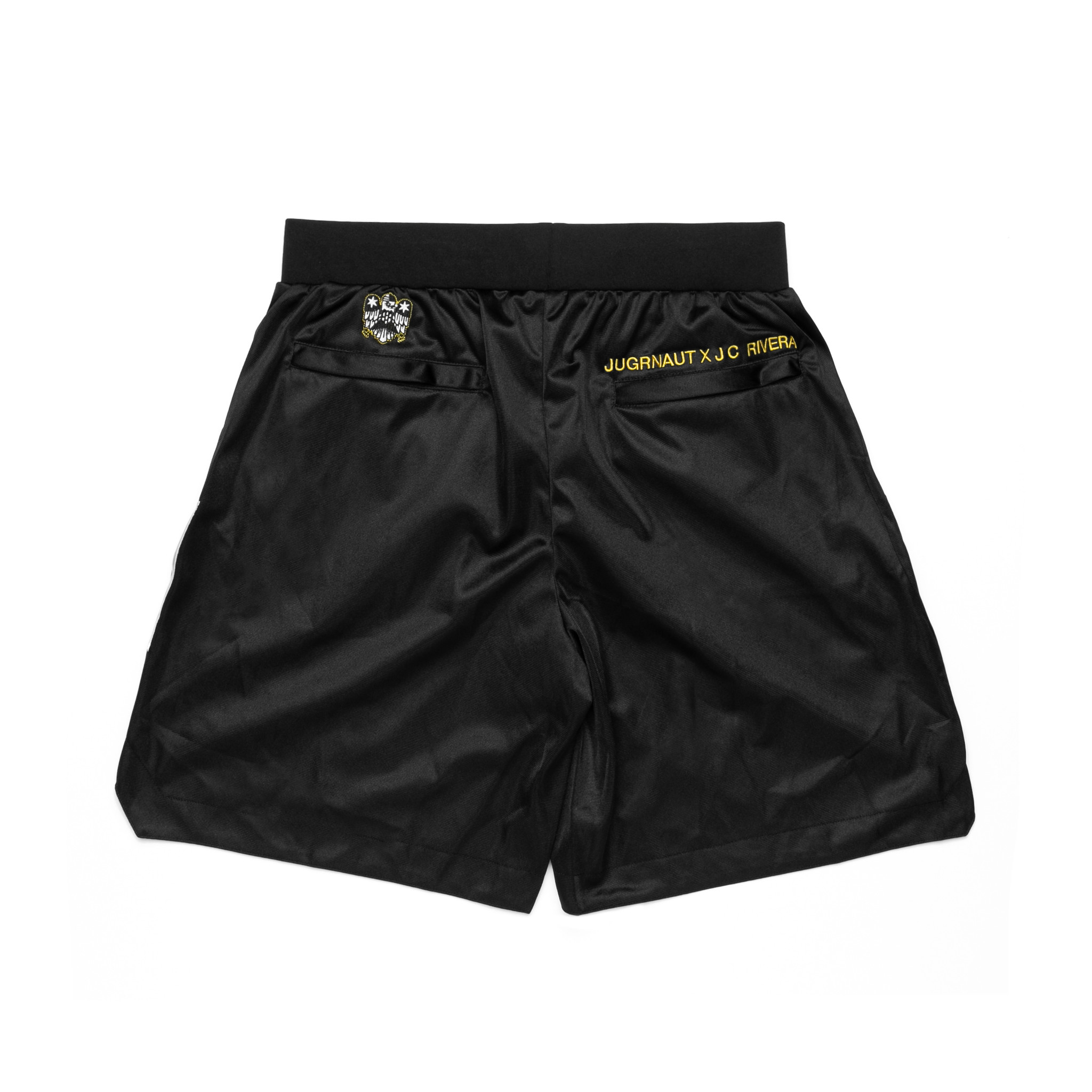 Jugrnaut Jugrnaut x J.C. Rivera x All Star Press Shorts Black